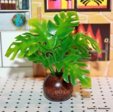 View Item: LUSCIOUS LARGER MINIATURE PLANT #11 Vintage Dollhouse Accessory FITS RENWAL