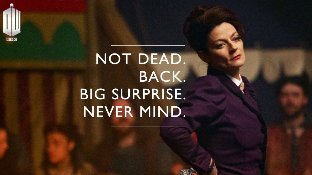 DOCTOR WHO MISSY QUOTES