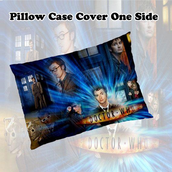 Pillow Case NEW Dr who Tardis Bedding Pillow by singgahsanasini, $14.99