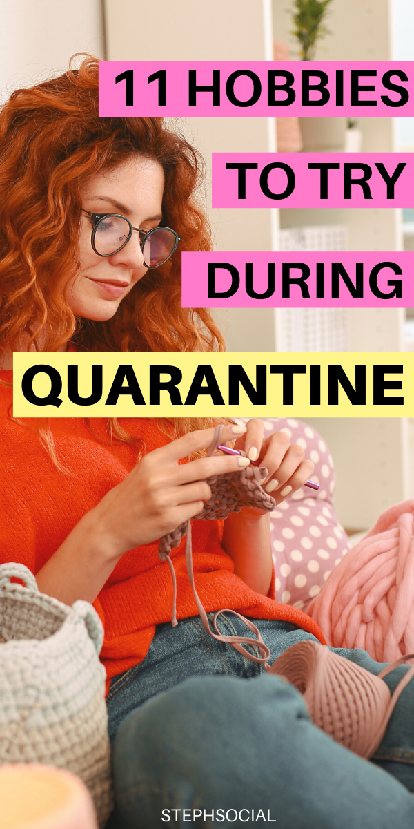 Hobbies For Women | Things To Do When Bored | Quarantine Activities