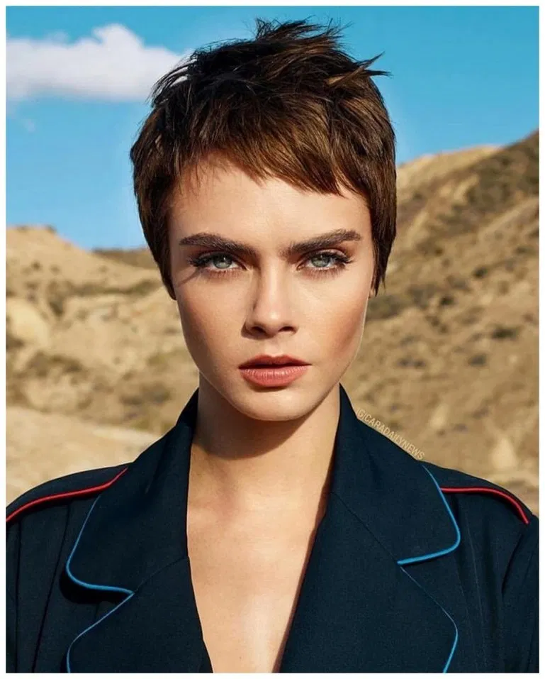 40 Short Hairstyle Ideas We Re Obsessed With Right Now Gala Fashion Cara Delevingne Hair Cara Delevingne Short Hair Styles