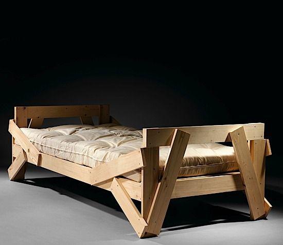 enzo mari n en 1932 lit n cr ation 1974 pin naturel furniture kinda woody pinterest. Black Bedroom Furniture Sets. Home Design Ideas