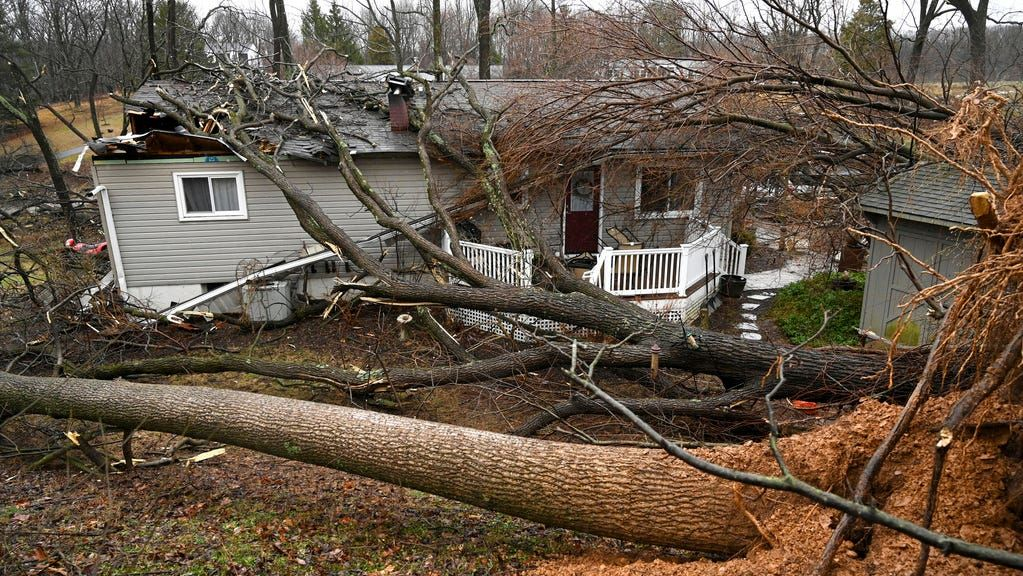 11 tornadoes reported across South as deadly storm causes ...