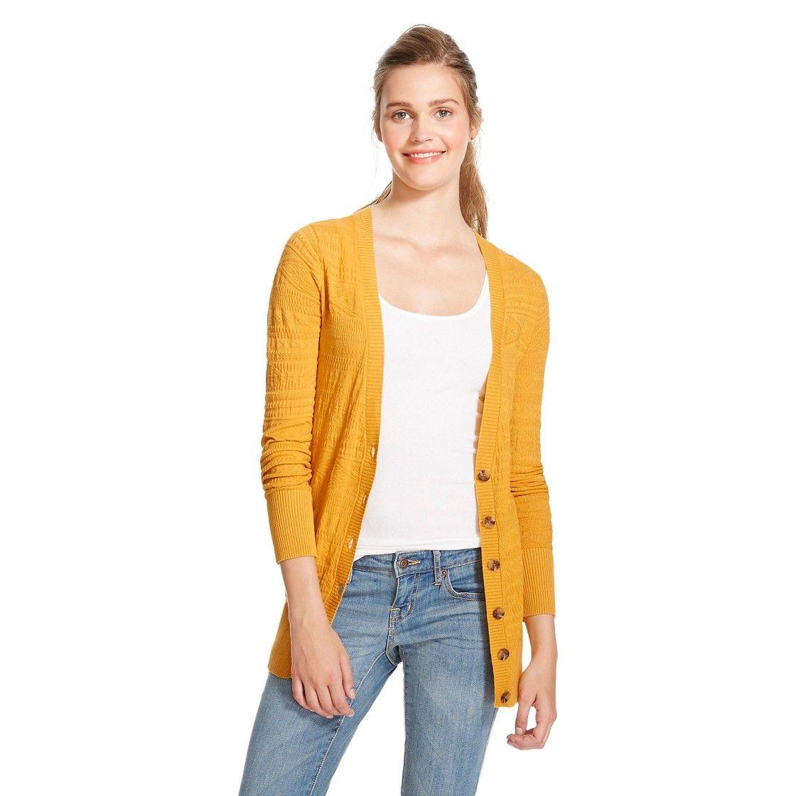 Jacquard Boyfriend Cardigans - Mossimo Supply Co. | Fashion ...