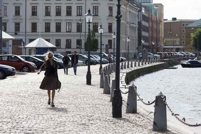 Altstadt in Göteborg