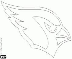 Logo Of The Arizona Cardinals American Football Franchise In Nfc West Division Glendale Arizona Coloring Page Arizona Cardinals Logo Nfl Logo Nfl