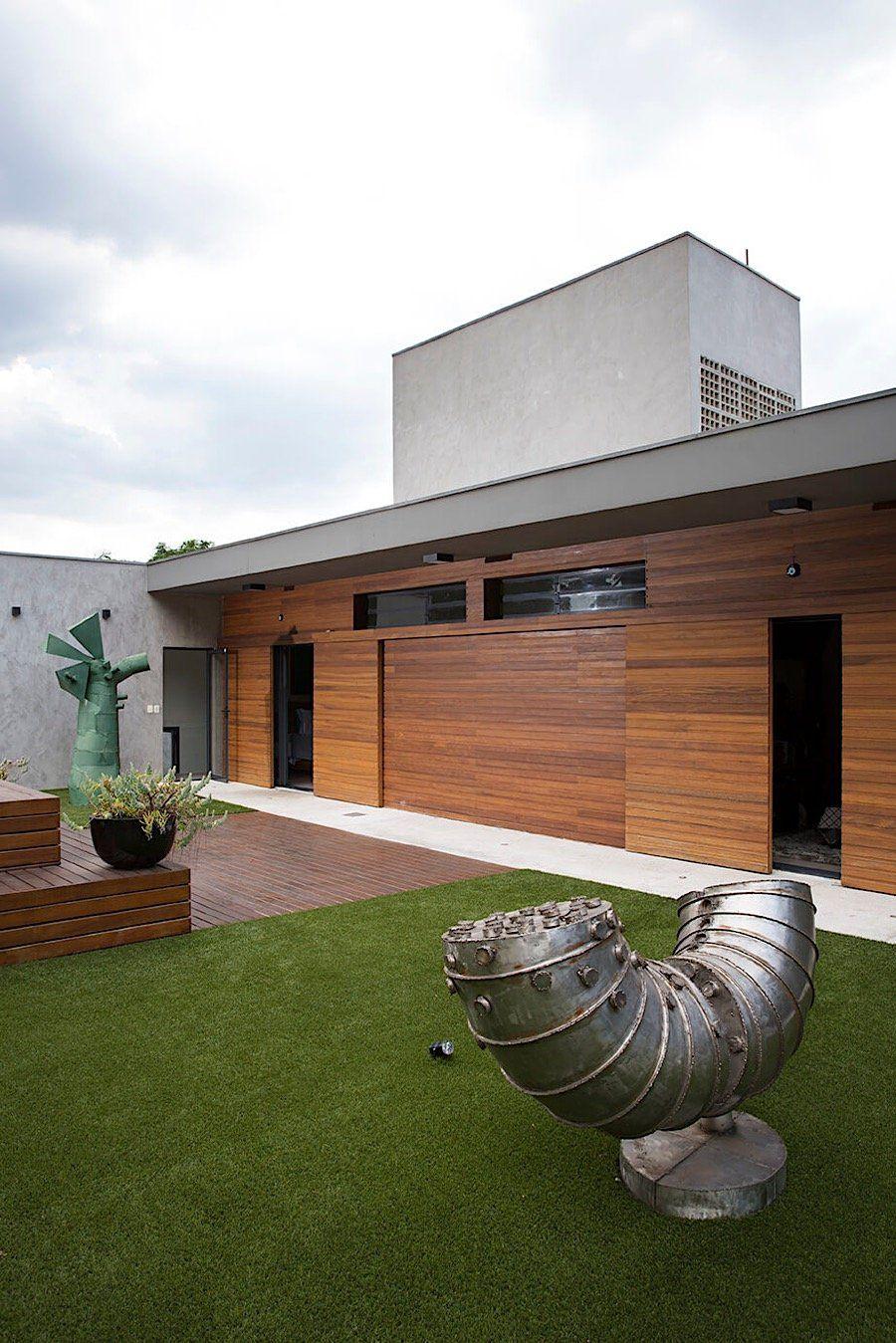 Das Haus Von Bildhauer Cacipore Torres Wenn Sich Kunstler Wie Der