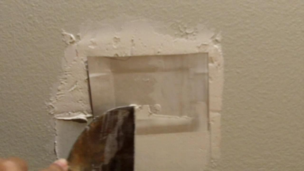 How To Make A Drywall Plug California Patch California Patches Diy Diy Techniques