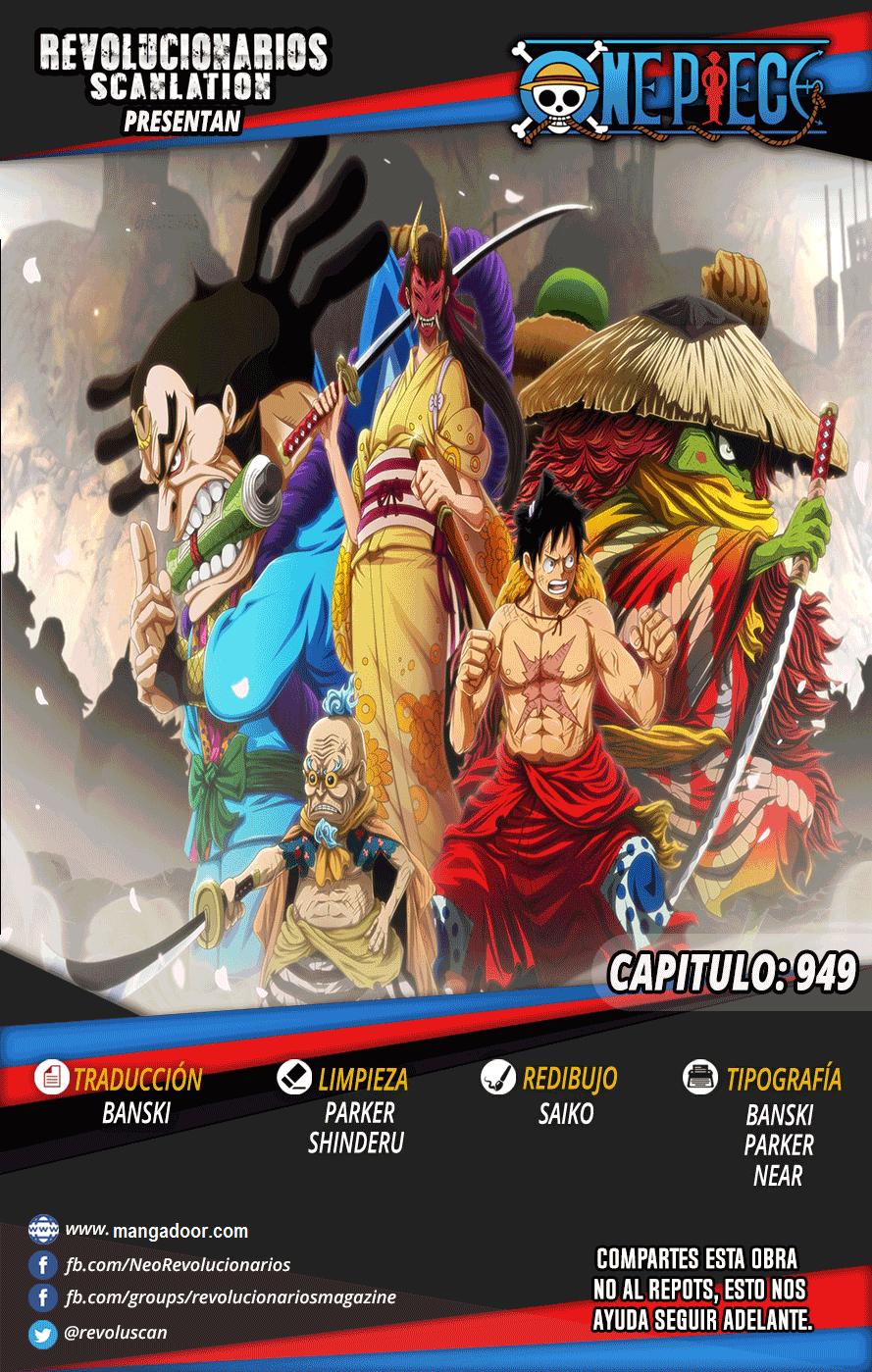 One Piece 949 Manga Español | Roronoa, Dibujos, Dibujos de ...