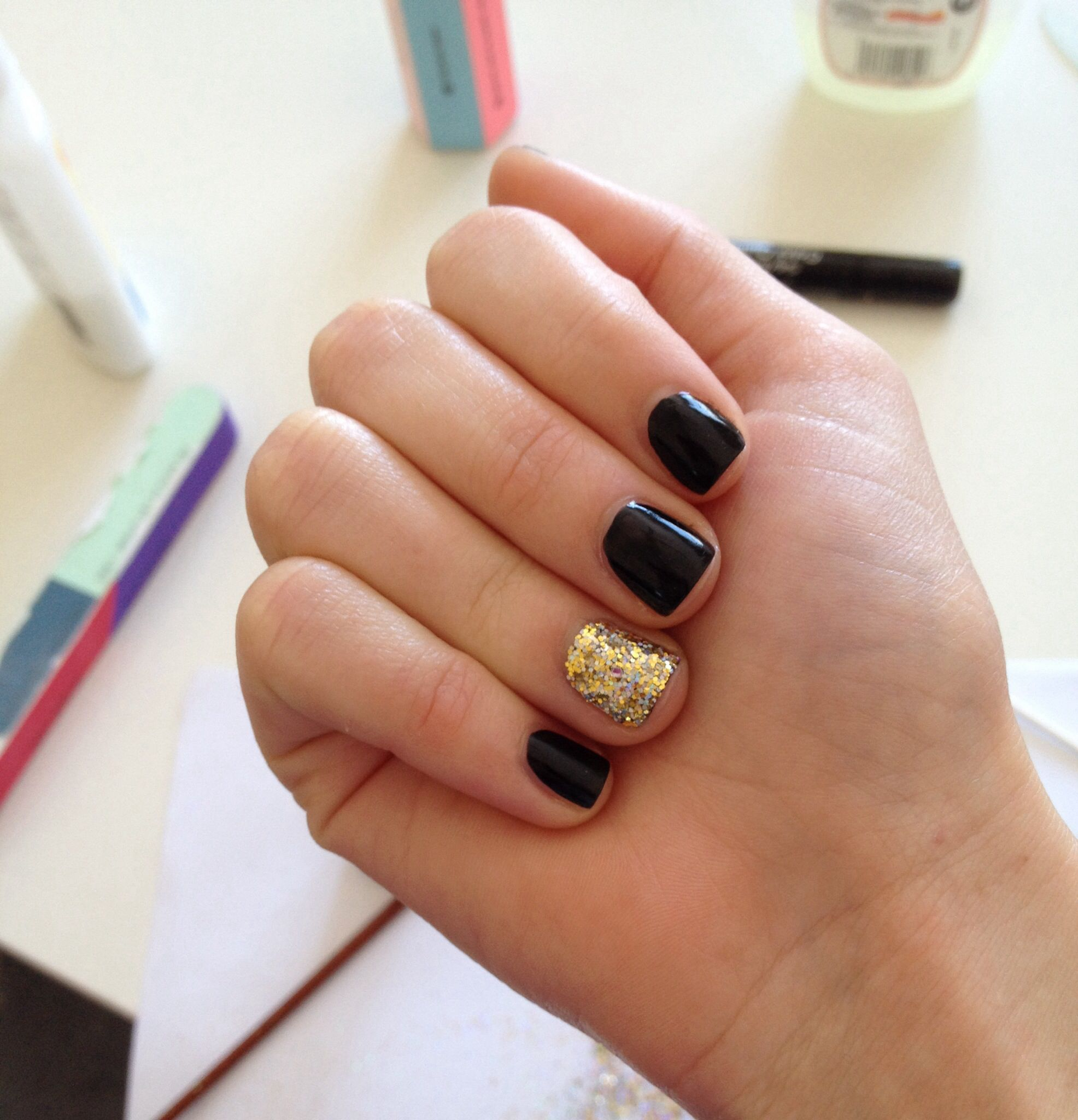 Sophisticated yet simple for short nails nails pinterest