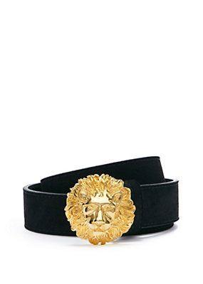 5854c8213e1b Versace - MENS VERSUS VERSACE LION BELT   Versace   Versace belt ...