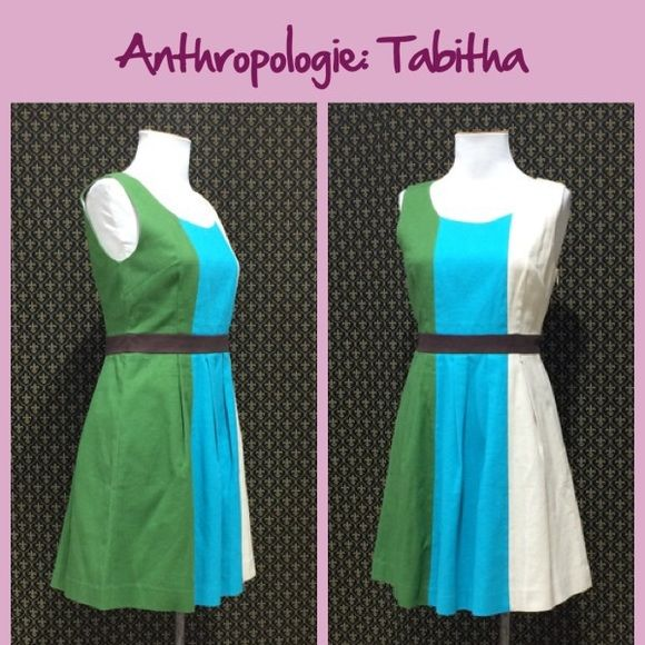 """NWT Anthro """"Glanz Dress"""" by Tabitha New with tags.   **  Prices are as listed- Nonnegotiable.  I'm happy to bundle to save shipping costs, but there are no additional discounts.  No trades, paypal or condescending terms of endearment  ** Anthropologie Dresses"""