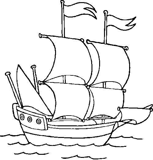 Imagenes De Un Barco Para Pintar