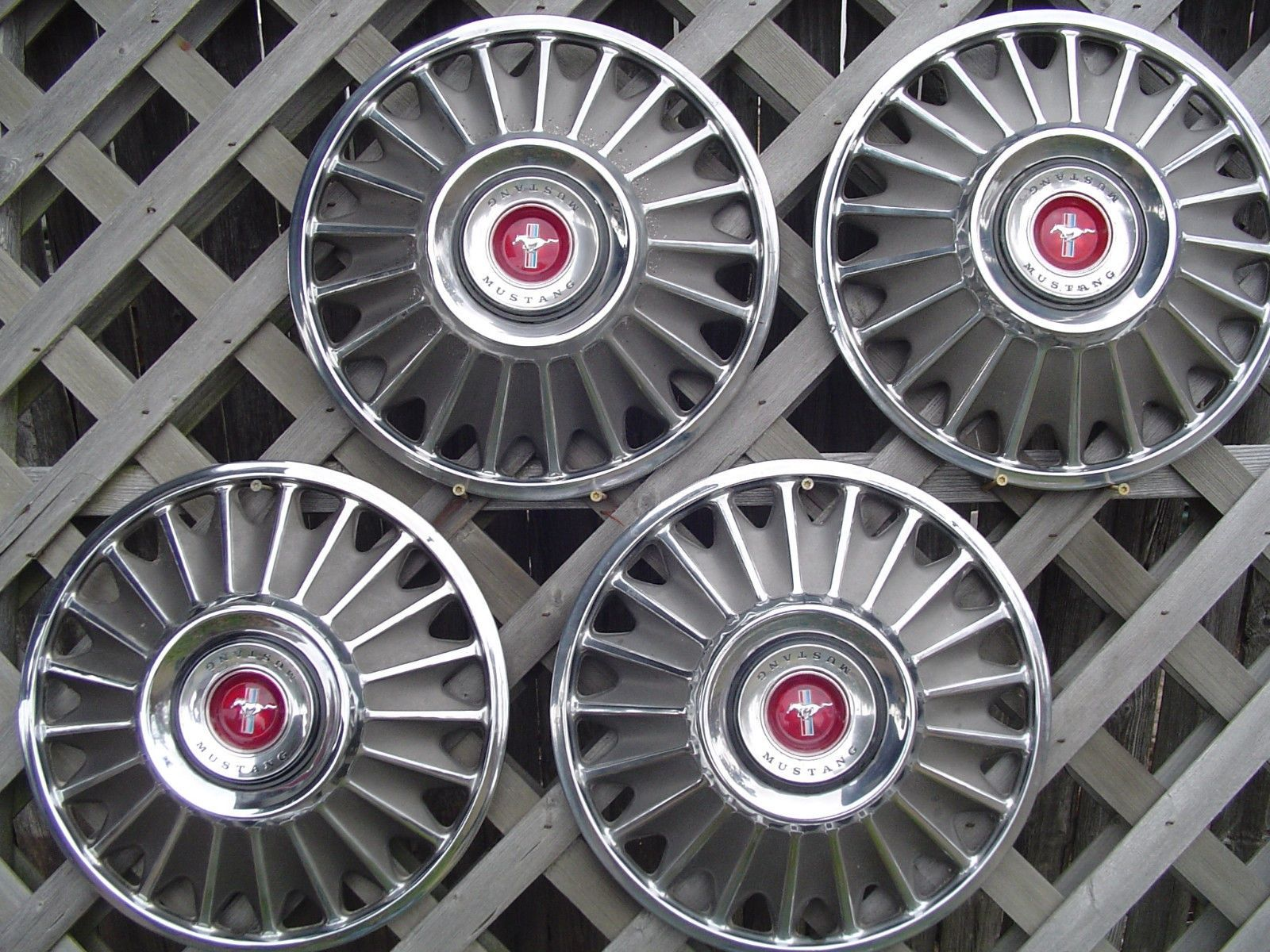 1967 Ford Mustang Original Hubcaps Images Yahoo Image Search