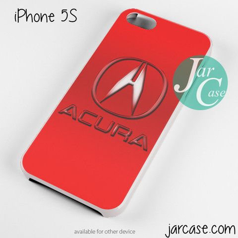 Red Acura Logo Phone Case For IPhone Scs Plus Cars - Acura phone case