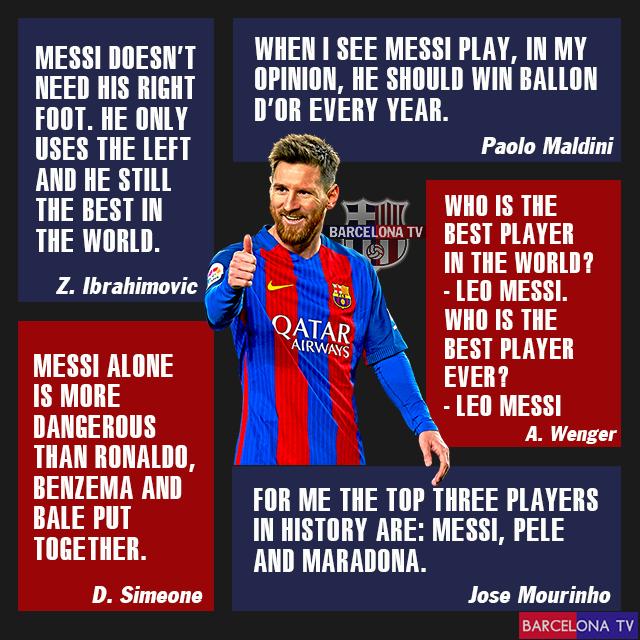Football Legends On Leo Messi Goat Lionel Messi Quotes Messi Quotes Lionel Messi