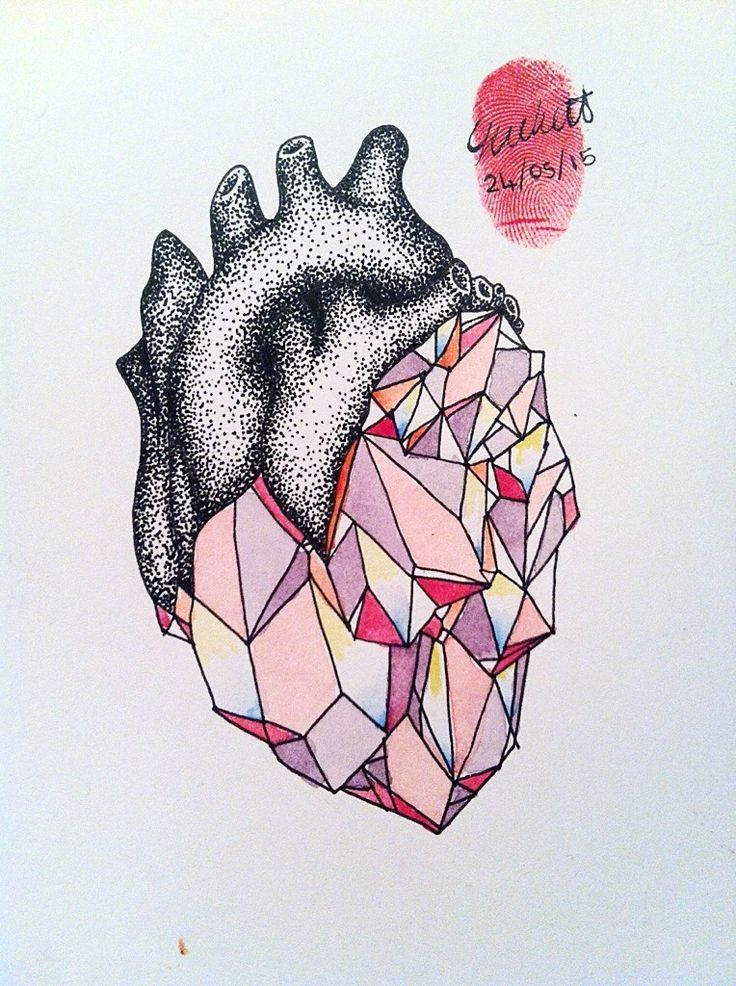 Image result for crystal heart