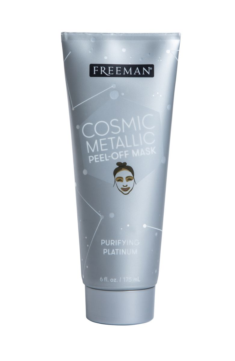 Freeman purifying platinum cosmic metals peeloff mask 6oz