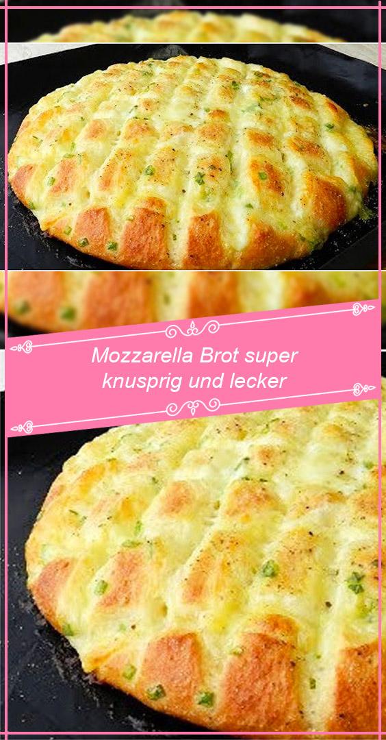 Photo of Mozzarella Brot super knusprig und lecker