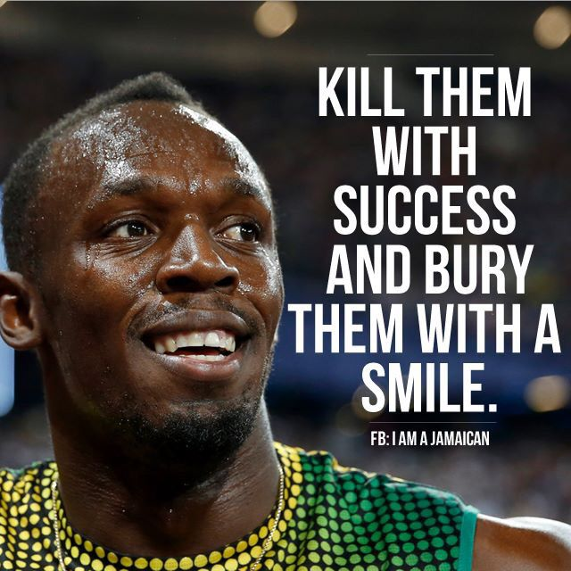 Usain Bolt Motivational Quote Athlete Quotes Motivational Quotes For Athletes Sport Quotes