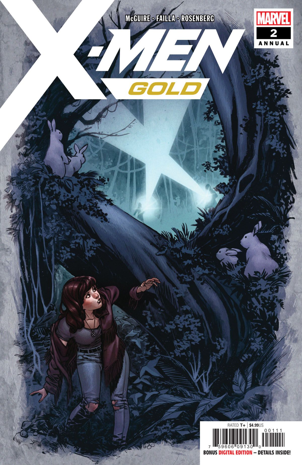 Exclusive Preview X Men Gold Annual 2 Looks At Kitty Pryde S Past X Men Comics Man Thing Marvel
