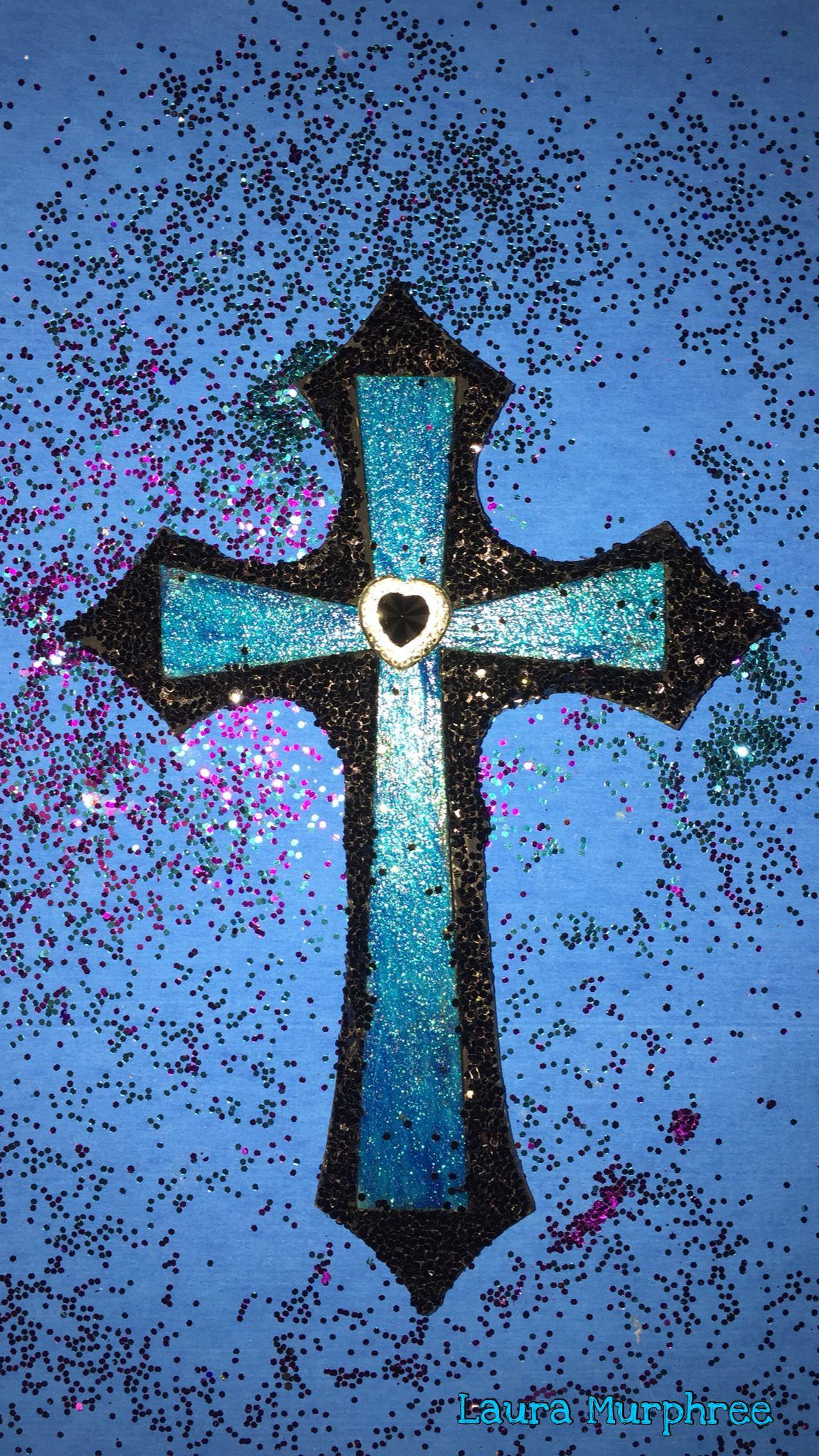 Glitter Cross Phone Wallpaper Sparkle Backgrounds Sparkling Glittery Pretty Girly Shimmer Cross Wallpaper Glitter Phone Wallpaper Jesus Wallpaper