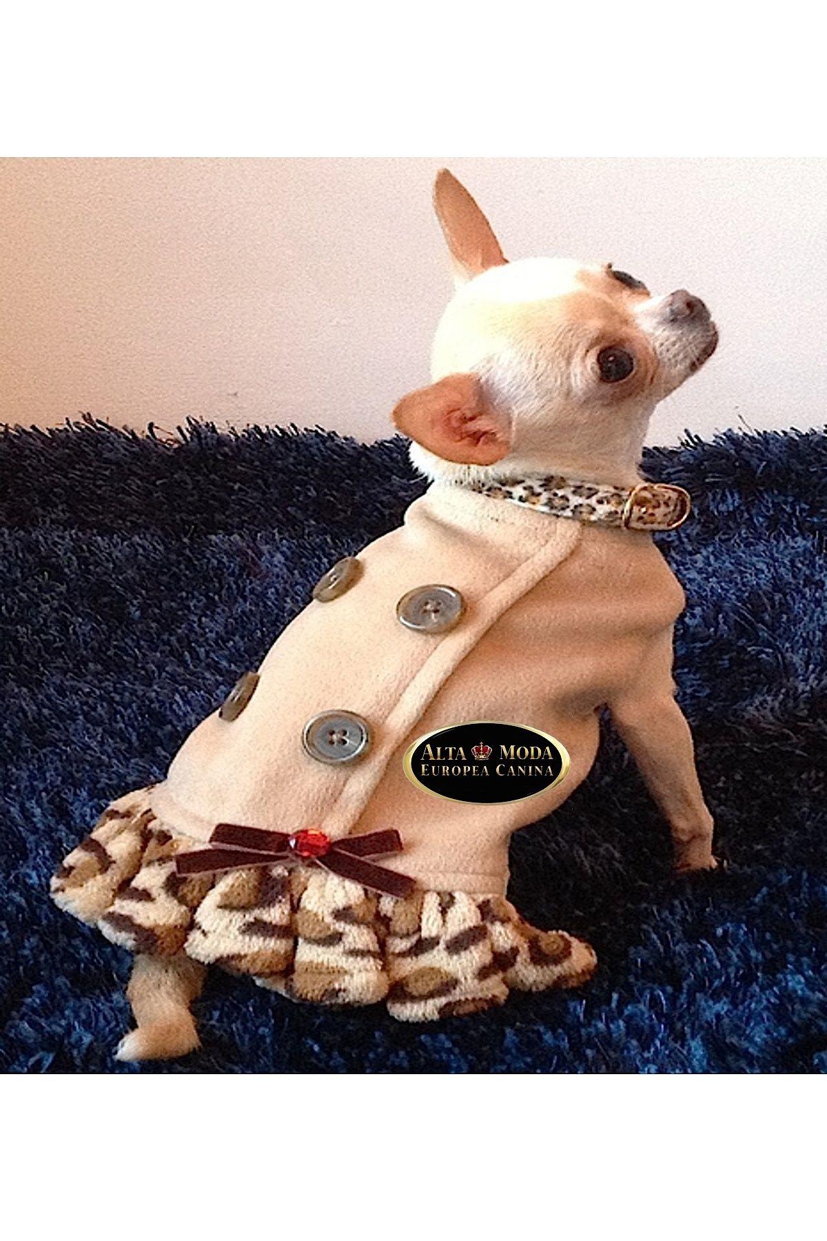 VESTIDO CHAQUETON LEOPARD BEIGE perritos Pinterest