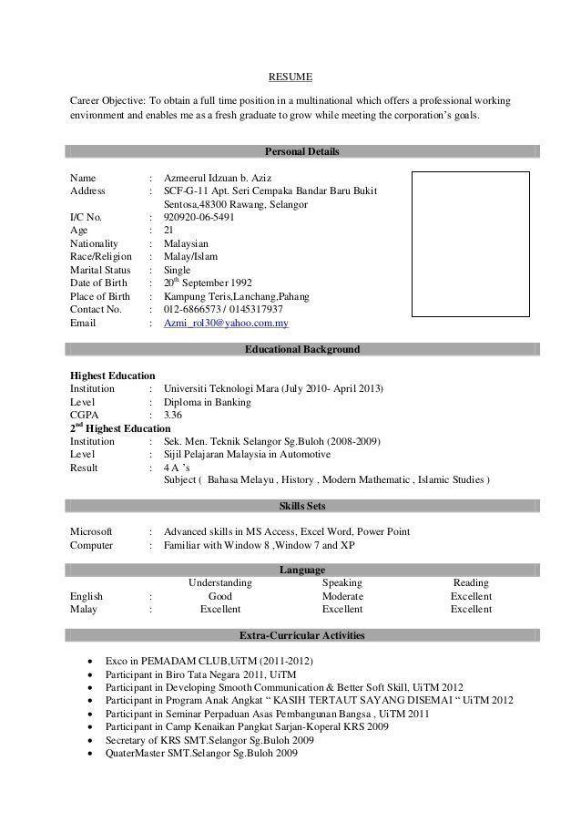 Resume Sample For Fresh Graduate Popular Pin By Calendar 2019 2020 On Latest Resume Of 40 Coo Job Resume Format Latest Resume Format Job Resume
