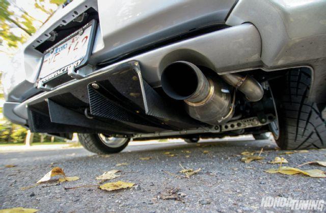 Acura Integra GSR Unobtainium Welding Rear Diffuser Super - 2000 acura integra parts