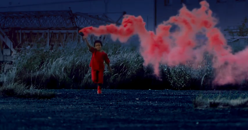 Still From Kanye West S Runaway Music Video So Vibrant Running Away Things To Come Kanye
