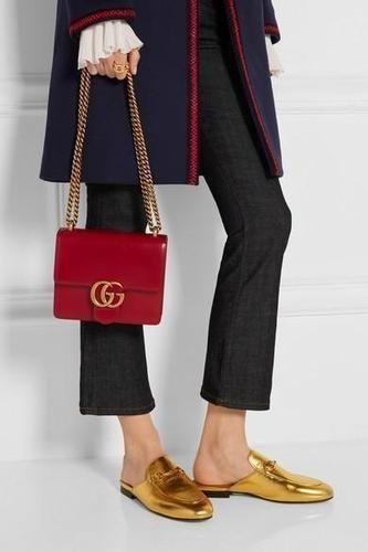 80b6732c11e26f Gucci GG Marmont mini leather shoulder bag $1,750   wishlist   Bags ...