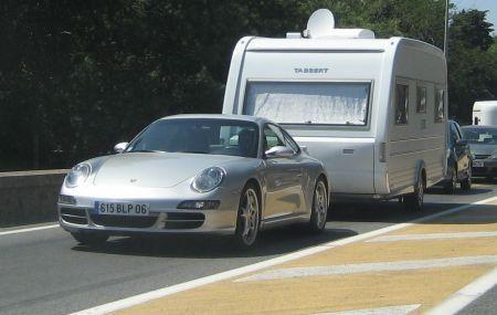 Porsche en Tabbert