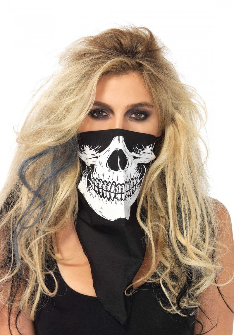 Skull Bandana Skull bandanna, Skull bandana mask