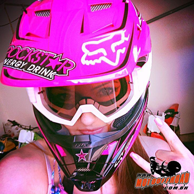 Penelope Das Trilhas Garota De Motocross Garotas De Moto