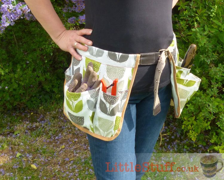 DIY Work Apron Tool Belt With Pockets in Camo Fabric