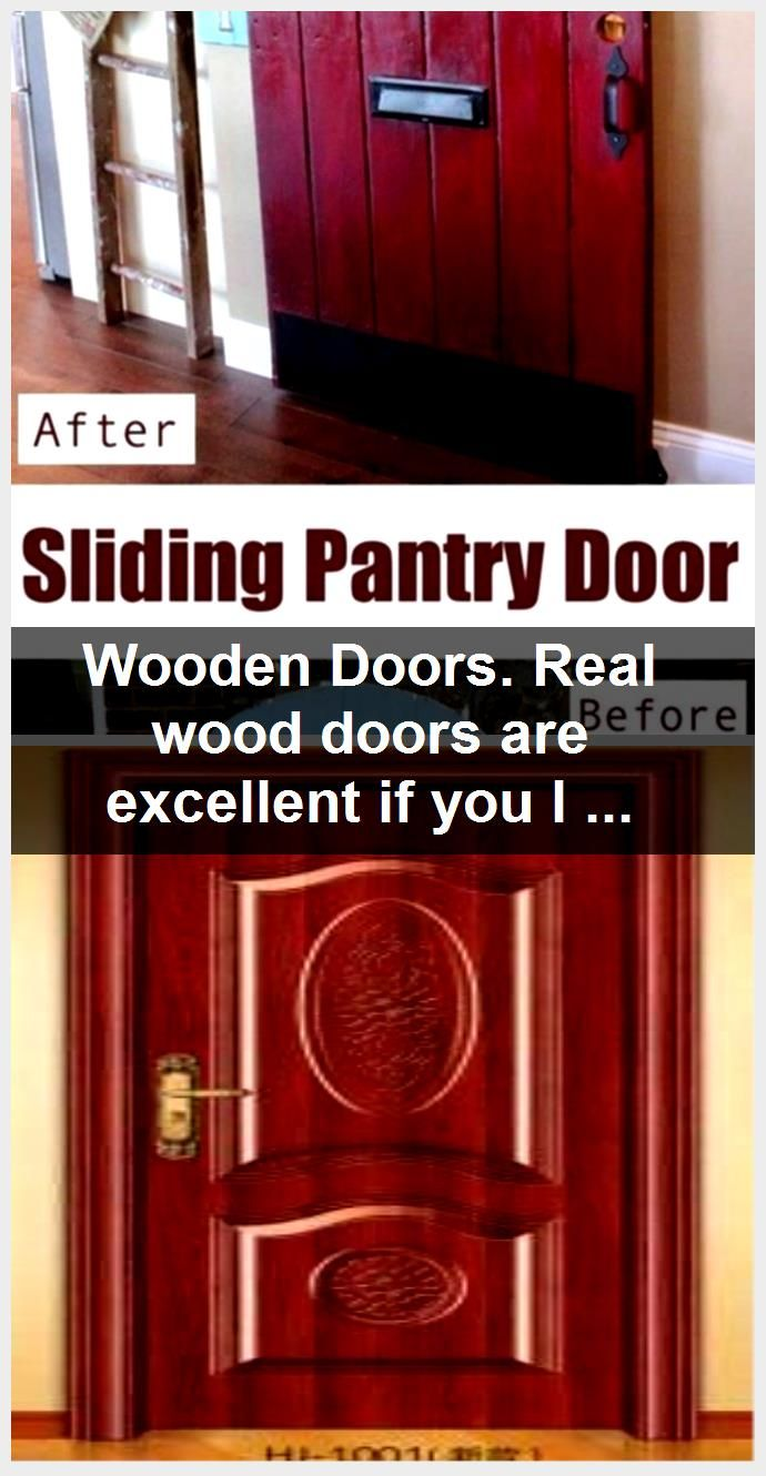 Photo of Wooden Doors. Real wood doors are excellent if you live in a period home or prop…,  #doors …