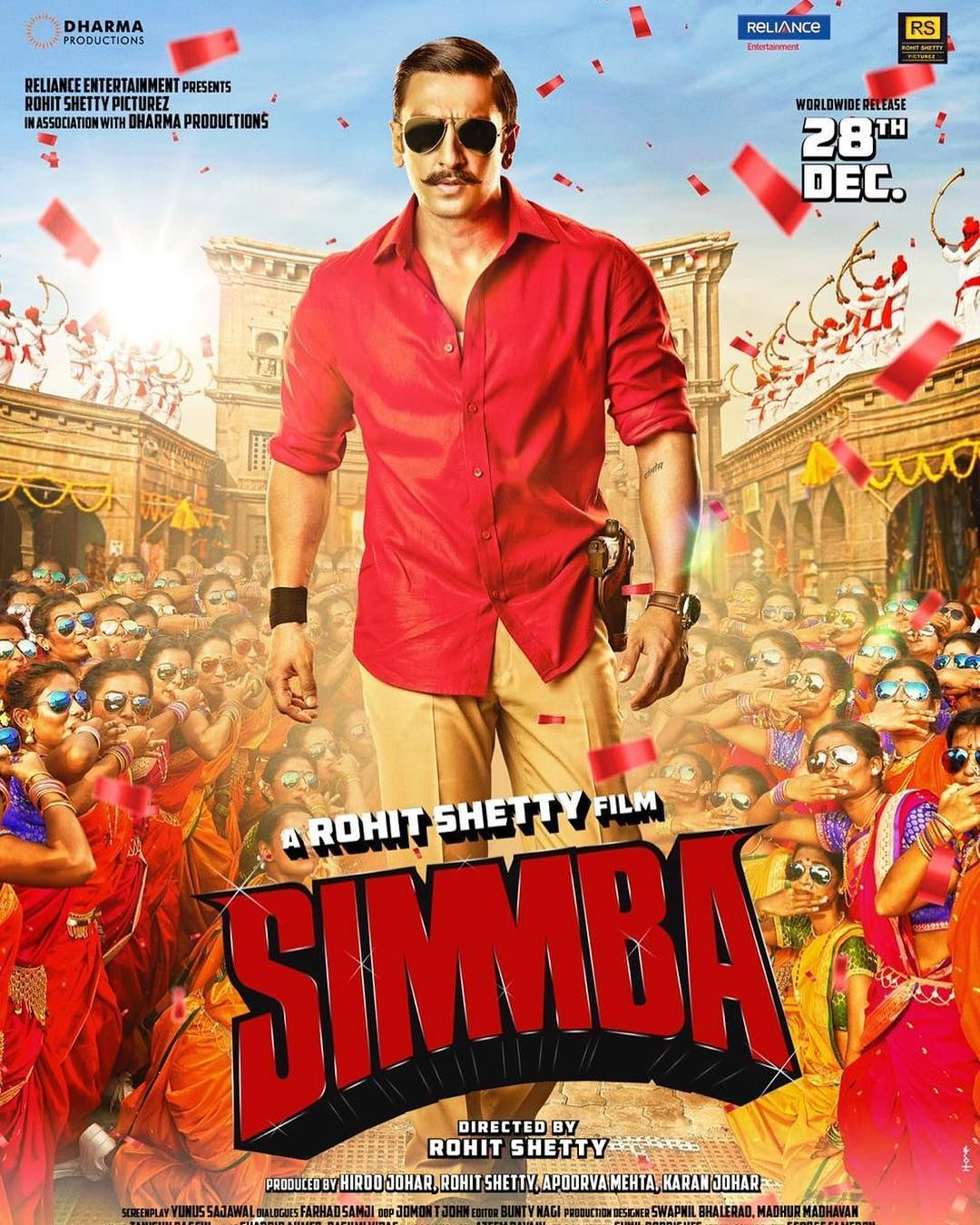 Simmba movie review and release live updates: Starring ...