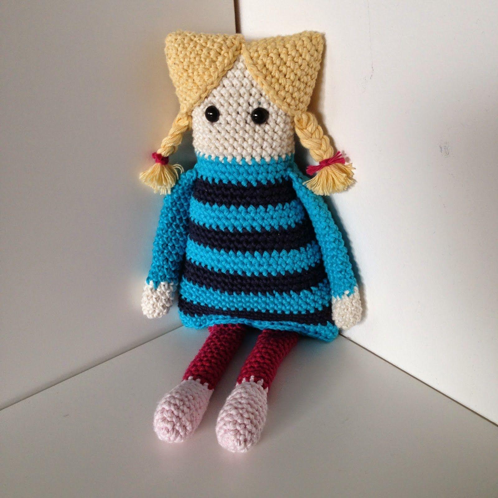 Tre små troll: MÖNSTER PÅ IRIS-DOCKAN | Crochet Dools, Tilda~ Free ...