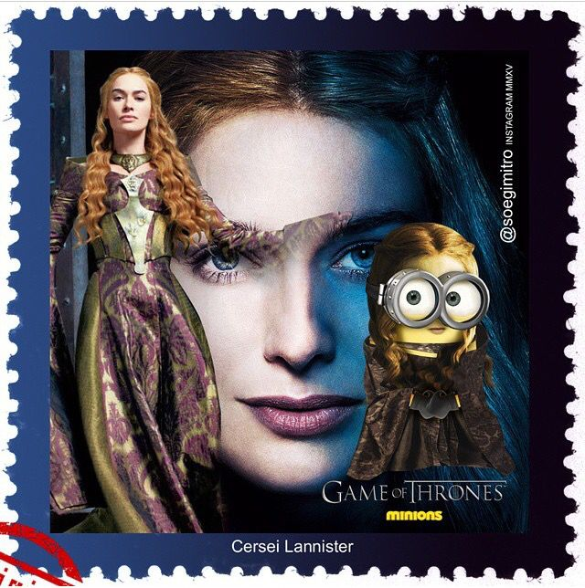 Game Of Thrones Minions ~ Cersei Lannister