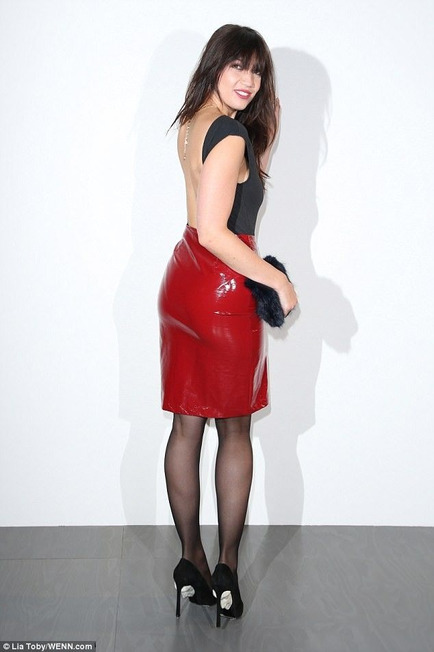 4659c72c7b9f7 Daisy Lowe pvc skirt Leather Midi Skirt, Leather Pants, Pvc Skirt, Dress  Skirt