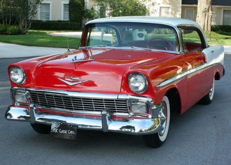 1956 Chevrolet Belair Hardtop Mjc Classic Cars Pristine