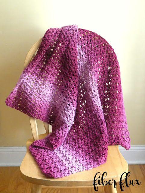 Free Crochet Pattern...Briar Rose Blanket! (Fiber Flux...Adventures ...