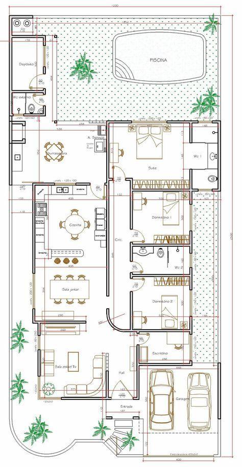 Pin di maurizio samadi su architecture planimetrie di for Planimetrie casa gratis