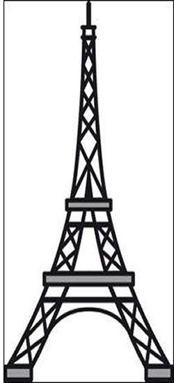 CR1220 EIFFEL TOWER Marianne Design Craftables Die In 2018