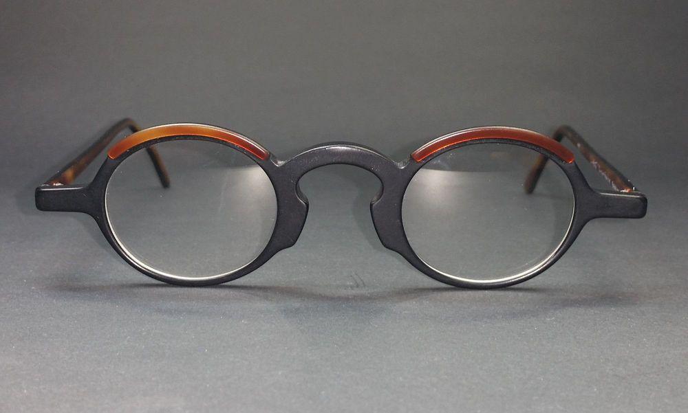 Theo Belgium Glasses Eyewear Frame 80 S 90 S Vintage Unworn Nos Single