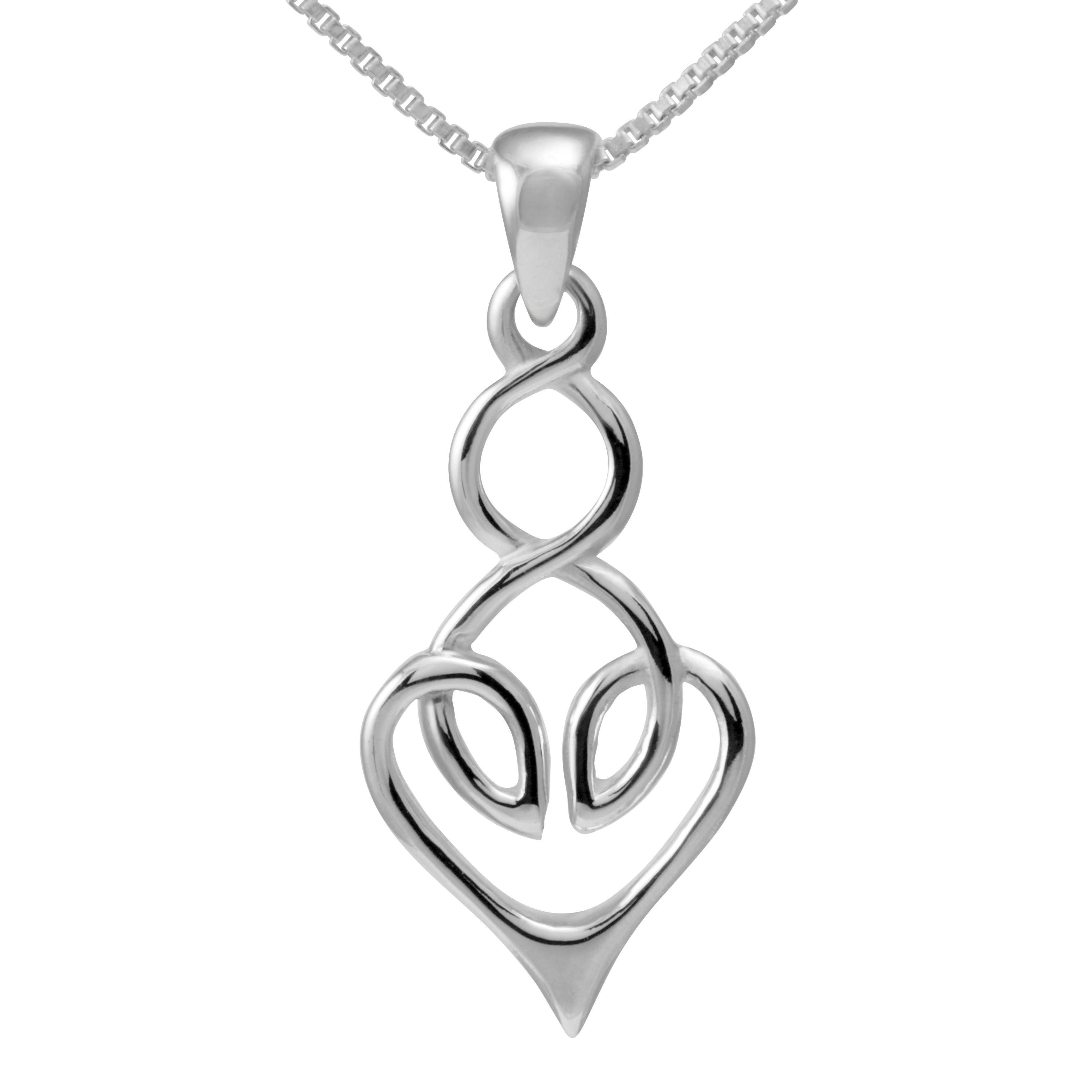 Sterling Celtic Heart Design Necklace | Products | Pinterest ...