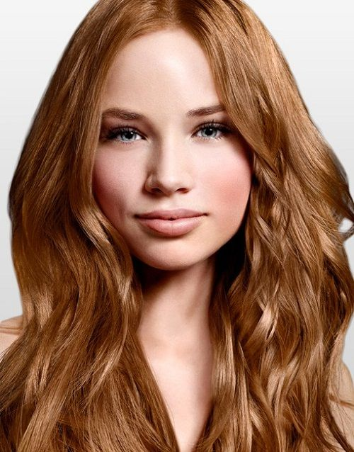 golden brown hair color in perfect look - Golden Brown Hair Color Pictures