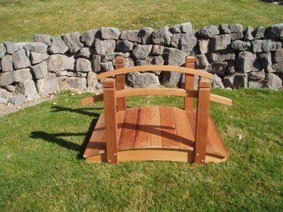 Lovely Wood Country 4 Foot Garden Bridge By Wood Country. $340.00. Our Wooden Garden  Bridges