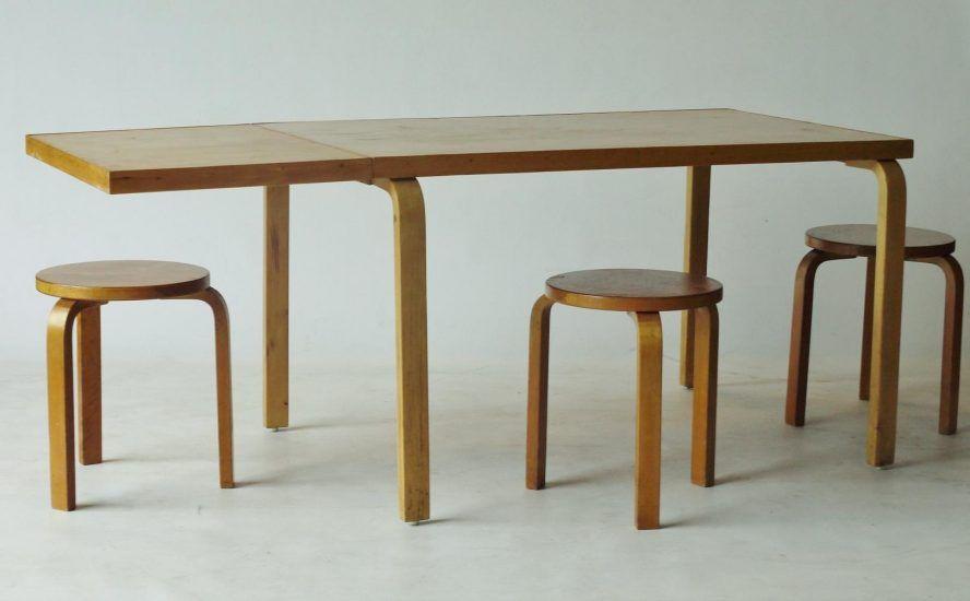 Artek Table Dining Aalto Extendable