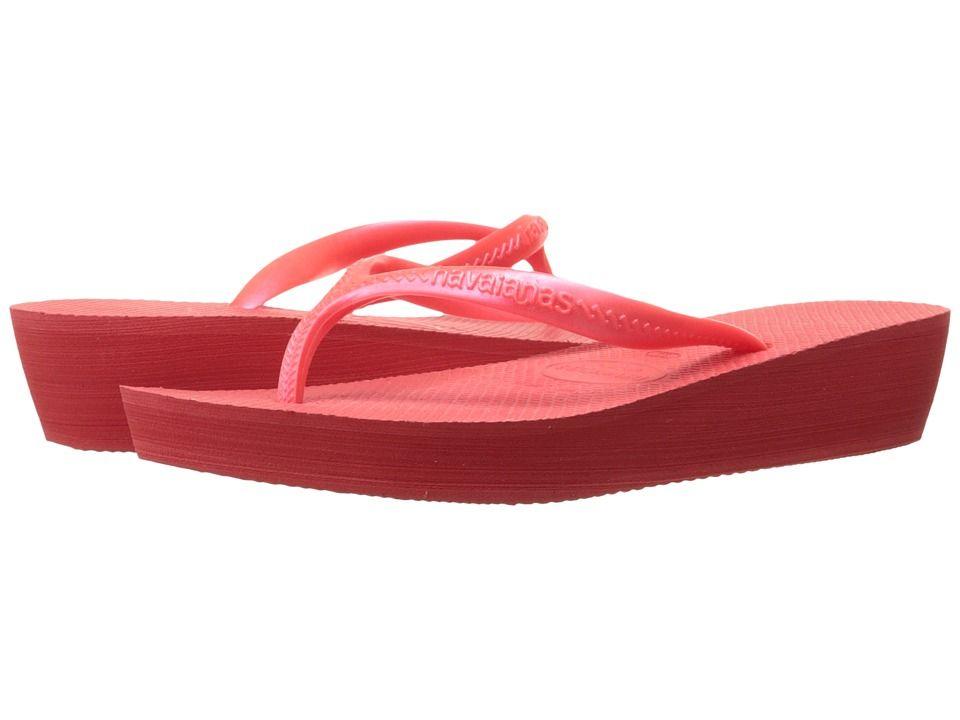 6f4e3ac7b HAVAIANAS HAVAIANAS - HIGH LIGHT FLIP FLOPS (CORAL NEW) WOMEN S SANDALS.   havaianas  shoes
